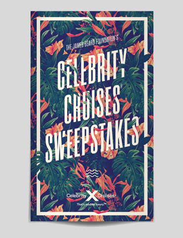 JBF—Celebrity Cruises Sweeps